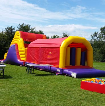 Big Obstacle Course for Hire in Fermoy